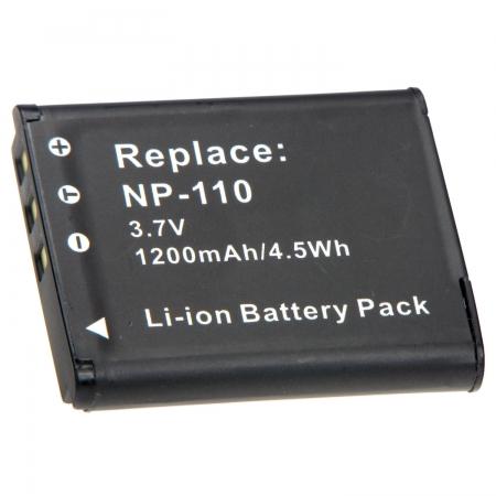 Power3000 PL211B.635 - Acumulator replace tip NP-110 pentru Casio - 1200mAh