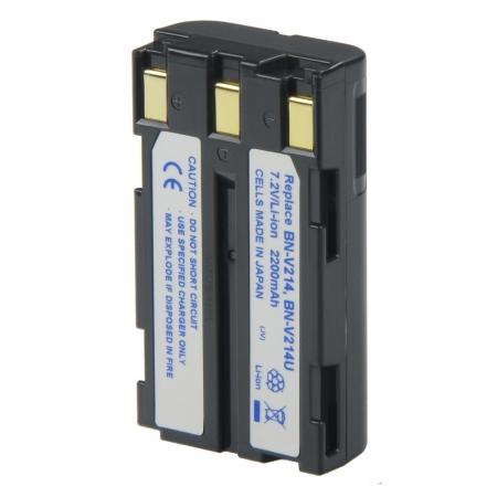 Power3000 PL214D-081 - acumulator tip BN-V214/ 214U pentru JVC, 2200mAh