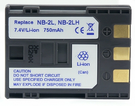 Power3000 PL234.142 - acumulator Li-Ion tip Canon NB-2LH /BP-2L12, 750mAh