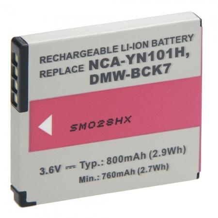 Power3000 PL258B-563 - Acumulator replace tip Panasonic DMW-BCK7, 800mAh