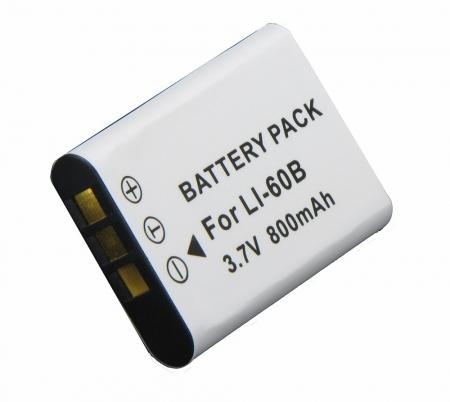 Power3000 PL317B.637 - acumulator tip Li-60B pentru Olympus FE-370, 800mAh