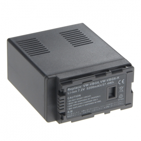 Power3000 PL326D.806 - acumulator tip VW-VBG6 pentru Panasonic 5200mAh