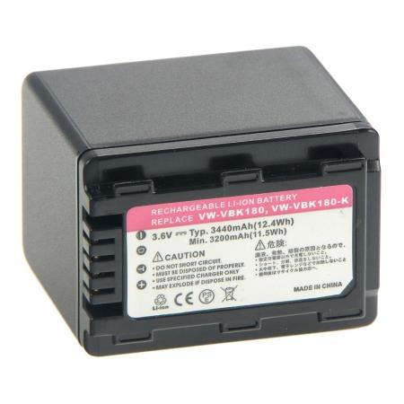 Power3000 PL329B-823 - Acumulator replace tip Panasonic VBL180, 3440mAh