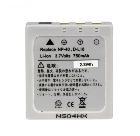 Power3000 PL40L.643 - acumulator tip Klic-7005 pentru Kodak, 750mAh