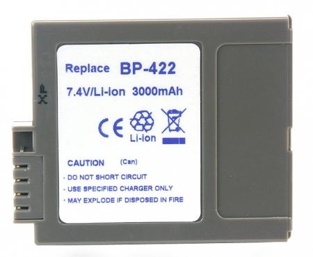 Power3000 PL422M.852 - acumulator tip BP-422 pentru Canon, 3000mAh