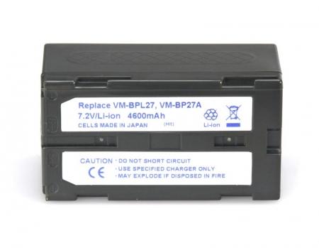 Power3000 PL490D.082 - acumulator tip VM-BPL27, VM-BP27A pentru Hitachi, 4600mAh