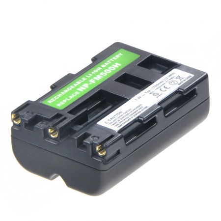 Power3000 PL509B.857 - acumulator tip Sony NP-FM500H 1700mAh pentru Sony Alpha
