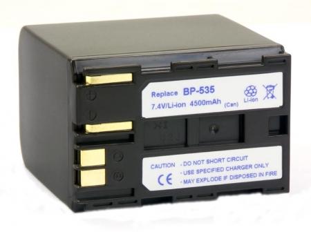 Power3000 PL535W.853 - acumulator tip BP-535 pentru Canon, 4500mAh