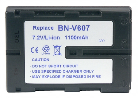 Power3000 PL607D.750 - acumulator tip BN-V607 pentru JVC, 1100mAh