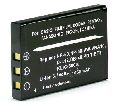 Power3000 PL60B.346 - acumulator tip Li-20B pentru Olympus, 1000mAh