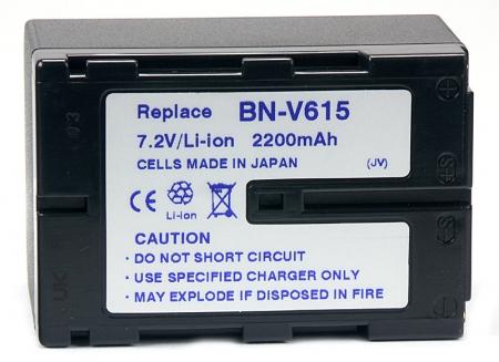 Power3000 PL615D.751 - acumulator Li-Ion tip BN-V615 / 615U / 615x pentru JVC, 2200mAh