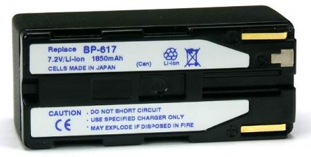 Power3000 PL617B.860 - acumulator tip Canon BP-617, 1850mAh