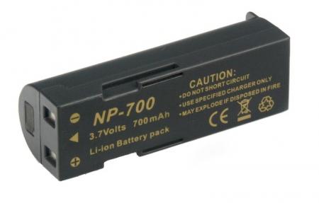 Power3000 PL700D.141 - acumulator tip D-Li72 pentru Pentax, 700mAh