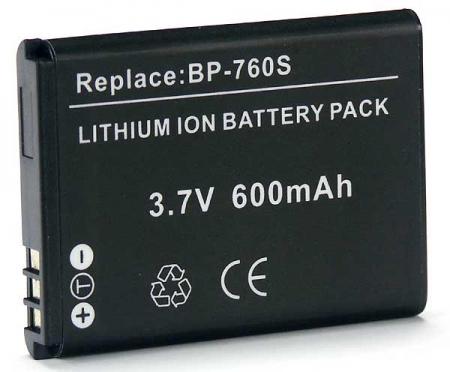 Power3000 PL760B.345 - acumulator tip BP-760S pentru Kyocera/Yashica, 600mAh