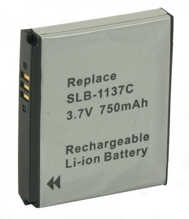 Power3000 PL793B.343 - acumulator tip SLB-1137C pentru Samsung, 750mAh