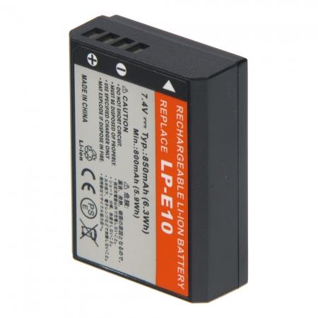 Power3000 PL801B.054 - acumulator replace tip LP-E10 pentru Canon EOS 1100D, 1200D