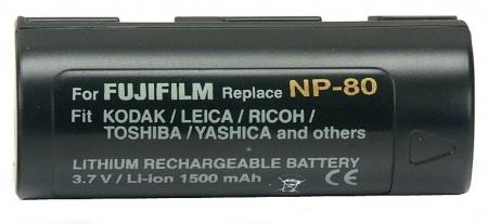 Power3000 PL80D.854 - acumulator Li-ion tip NP-80 pentru Fuji, 1500mAh