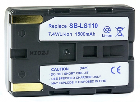 Power3000 PL812G.853 - acumulator tip SB-LS110 pentru Samsung,1500mAh