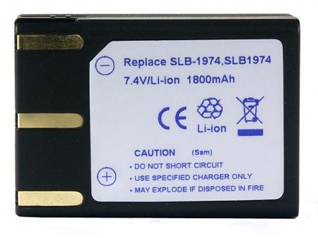 Power3000 PL815B.383 - acumulator tip SLB-1974 pentru Samsung, 1800mAh