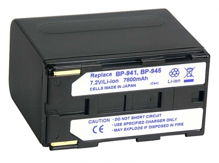 Power3000 PL941B.086 - acumulator Li-ion tip Canon BP-941/BP-945, 7800mAh