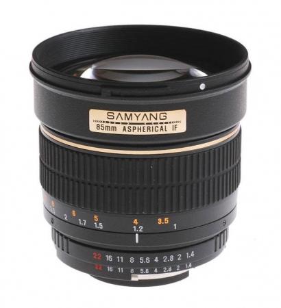 Samyang 85mm F1.4 Sony