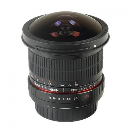 Samyang 8mm F3.5 Canon CSII