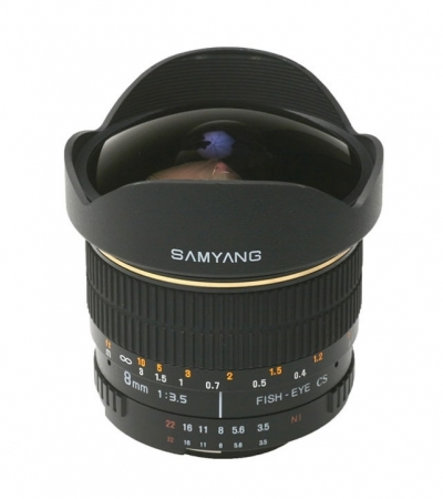 Samyang 8mm F3.5 Sony E-System VG-10 Edition