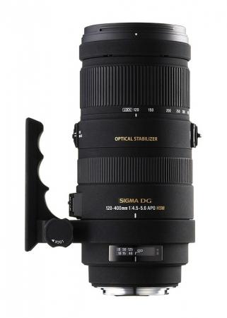 Sigma 120-400mm f/4.5-5.6 APO DG OS (stabilizare de imagine) HSM - Nikon AF-S FX