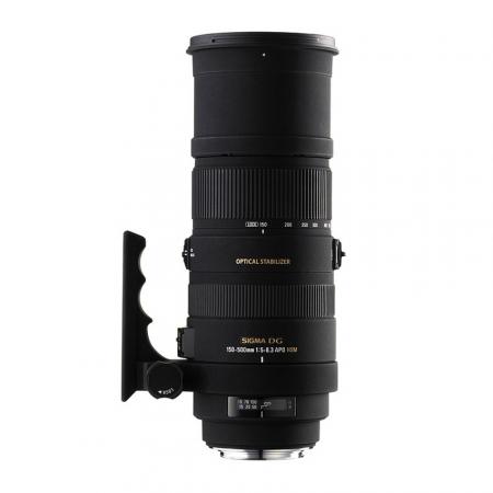 Sigma 150-500mm f/5-6.3 DG APO HSM OS (stabilizare de imagine) - Nikon AF-S FX