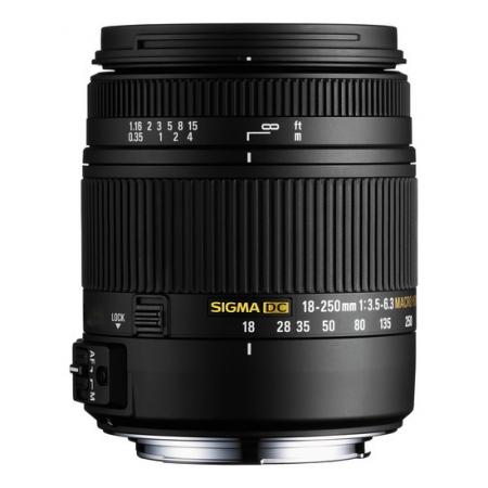 Sigma 18-250mm f/3.5-6.3 DC Macro HSM TSC - Pentax K