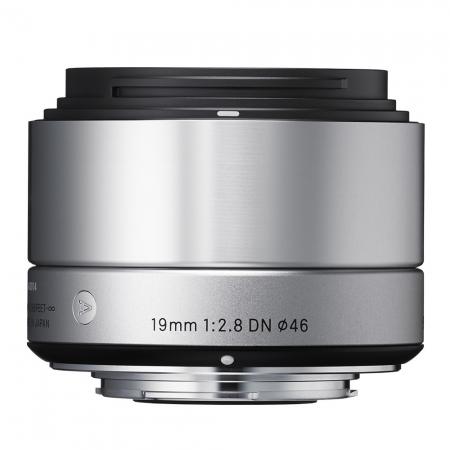 Sigma 19mm F2.8 DN Art argintiu - montura Sony NEX
