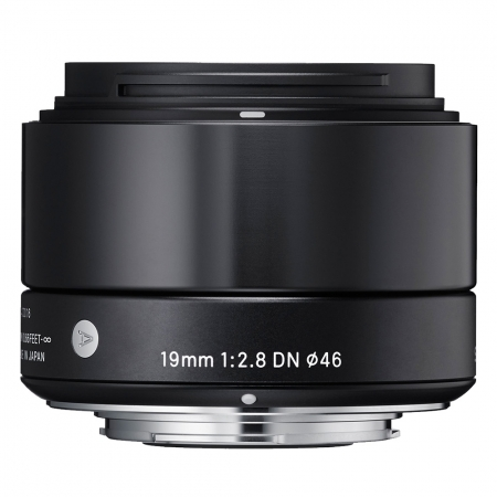 Sigma 19mm F2.8 DN Art negru - montura Micro Four Thirds