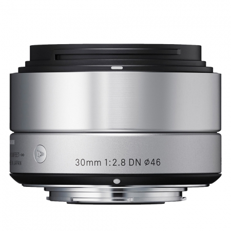 Sigma 30mm f2.8 DN Art argintiu - montura Micro Four Thirds
