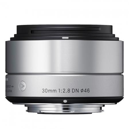 Sigma 30mm f2.8 DN Art  argintiu - montura Sony NEX