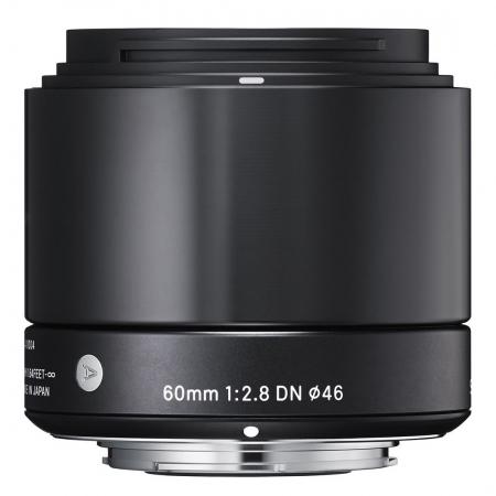 Sigma 60 mm f/2.8 DN Art negru - montura Micro Four Thirds