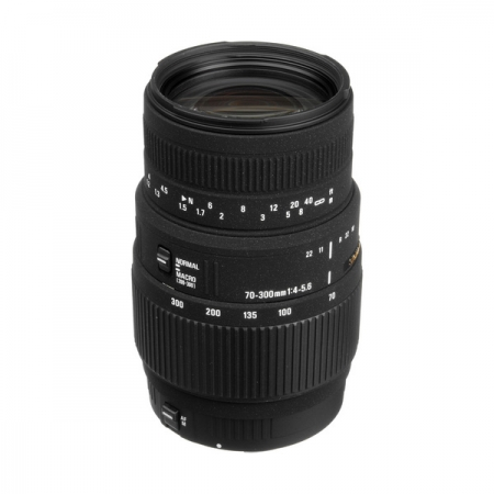 Sigma 70-300mm f/4-5.6 DG Macro (non-APO) Canon