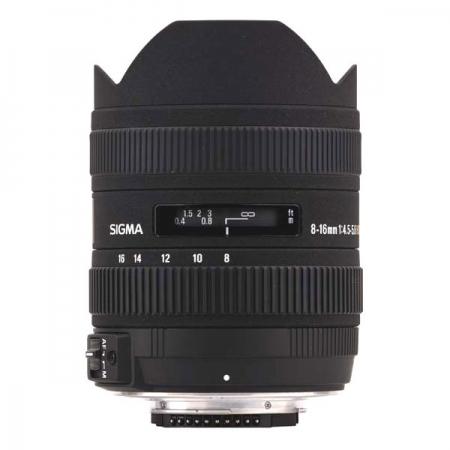 Sigma 8-16mm f/4.5-5.6 DC HSM - Nikon AF-S DX