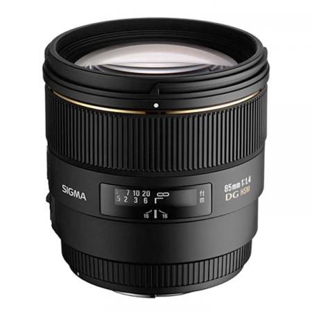 Sigma 85mm f/1.4 EX DG HSM - Canon EF
