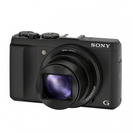 Sony DSC-HX50 negru - 20.4Mpx, zoom optic 30x, SteadyShot, Wi-Fi