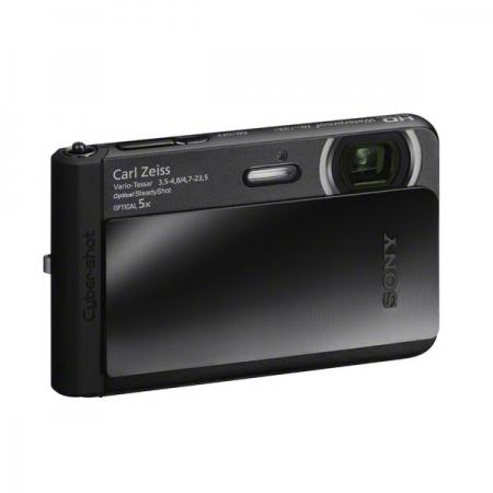 Sony DSC-TX30 negru - aparat subacvatic 18Mpx, zoom 5x, Full HD
