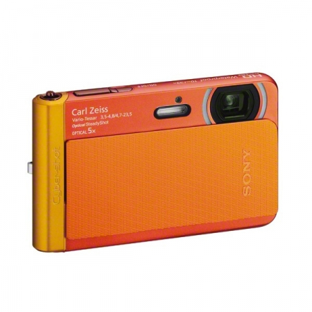 Sony DSC-TX30 portocaliu - aparat subacvatic 18Mpx, zoom 5x, Full HD
