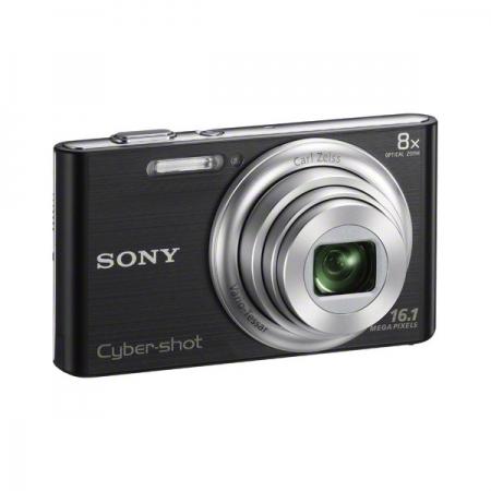 Sony DSC-W730 - un aparat compact de o simplitate dezarmantă, pentru amatorii de instantanee Sony-dsc-w730-aparat-foto-negru-card-4gb-geanta-lcsbdg-25581-1