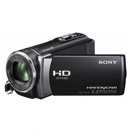 Sony HDR-CX210E negru - camera video FullHD, 8GB, zoom optic 25x