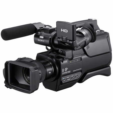 Sony HXR-MC2000E - Obiectiv Sony G, Senzor Exmor R CMOS, Zoom Optic 12x, memorie 64GB
