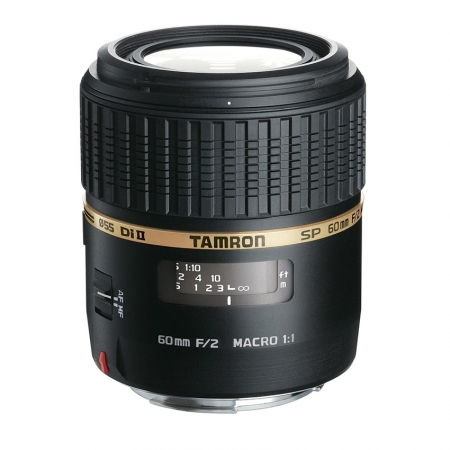 Tamron SP 60mm f/2 Di II LD IF Macro 1:1 - Canon