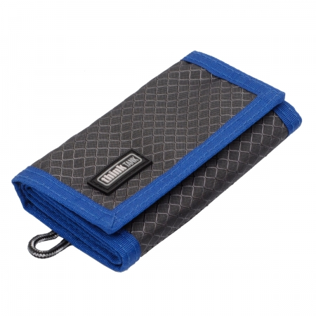 Think Tank Pixel Pocket Rocket -Grey/Blue- portmoneu carduri