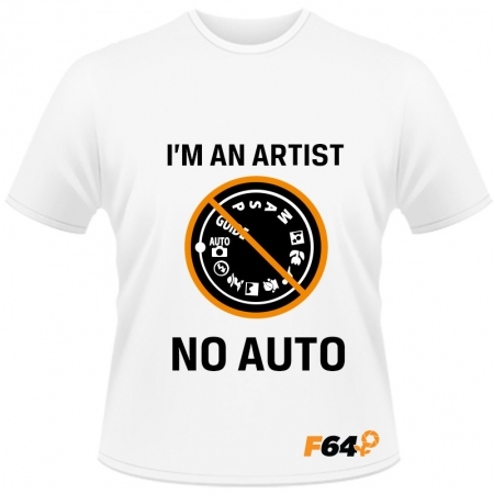 Tricou alb - I am an Artist (No Auto) - XL