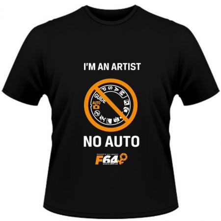 Tricou negru - I am an Artist (No Auto) - L