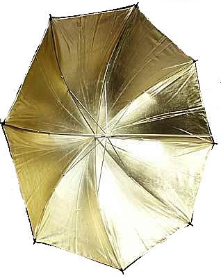 Umbrela Reflexie Gold 80cm  WOS3004