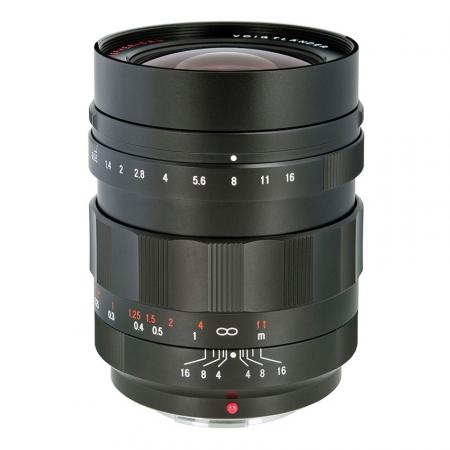 Voigtlander Nokton 17.5mm f/0.95 negru - micro 4/3